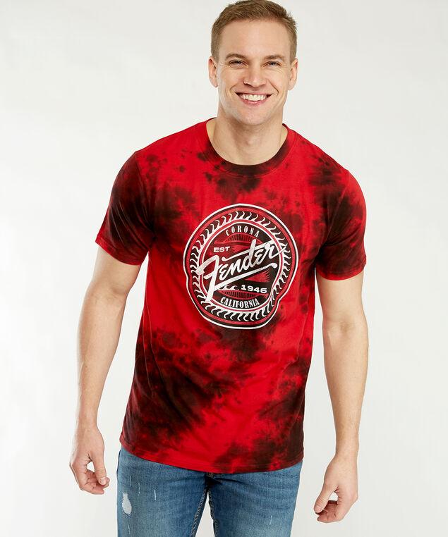 screen print t-shirt, Red