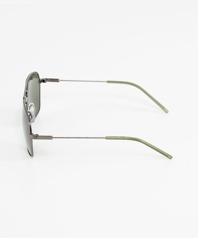 mens metal sunglasses, BLACK, hi-res
