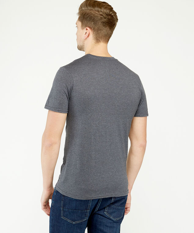 ruddy lad logo t-shirt, Charcoal, hi-res