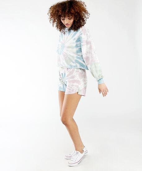 multi colour tie dye pullover, Pastel Tie Dye, hi-res