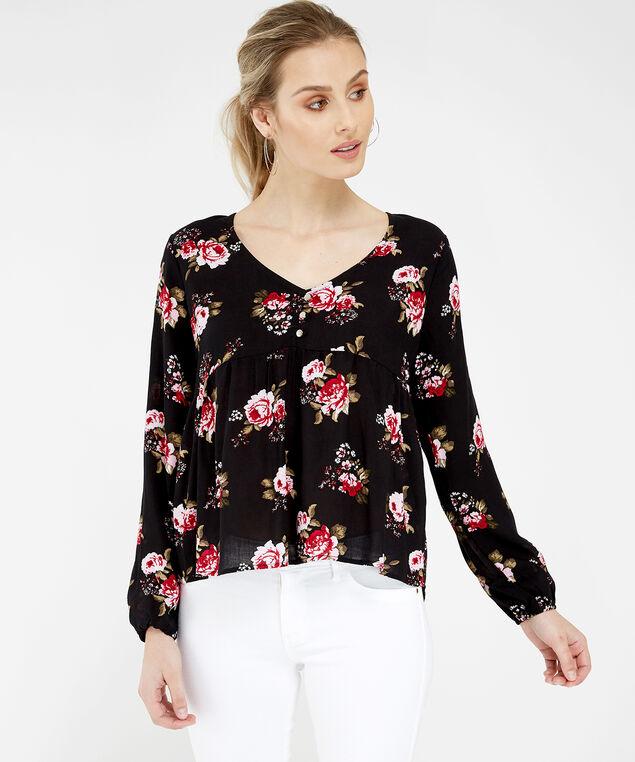 aa3780b312bbcb ... 3 button blouse - wb