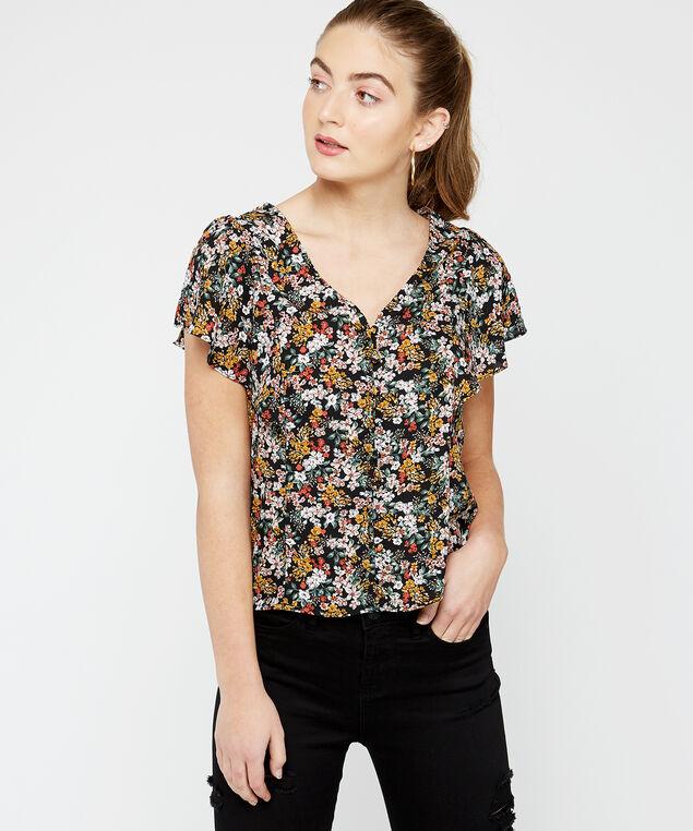 button up blouse - wb, Multi, hi-res
