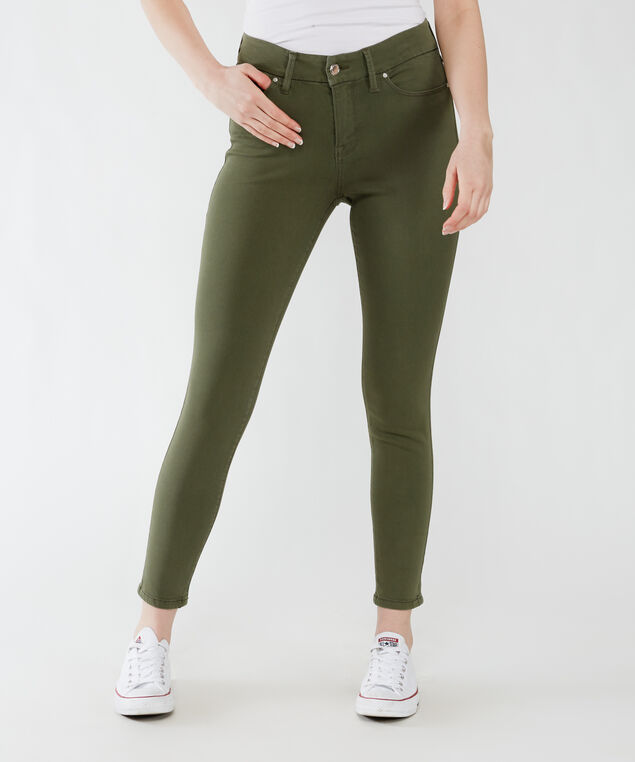 high rise skinny ankle - beetle,