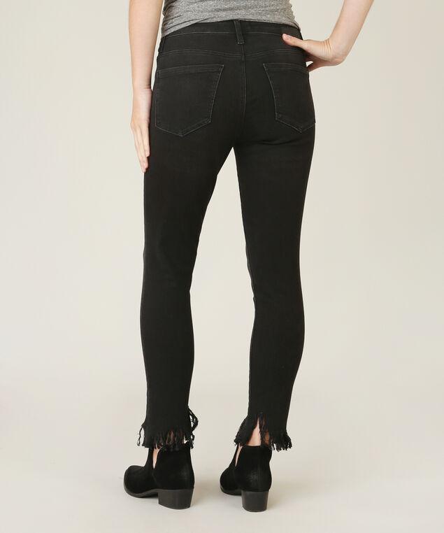 tess fringe skinny jeans, , hi-res