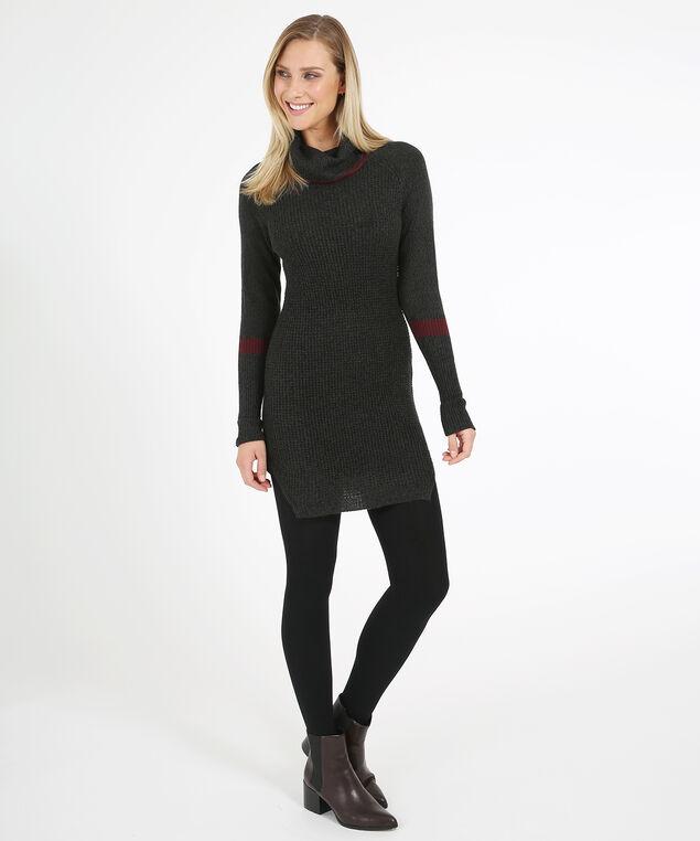 sweater dress - wb, GREY TWIST, hi-res