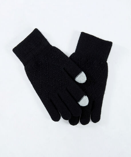 texting glove, Black, hi-res