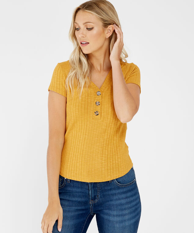 henley tee - wb, GOLDEN MIRAGE, hi-res