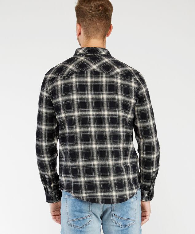 long sleeve shirt, Black, hi-res
