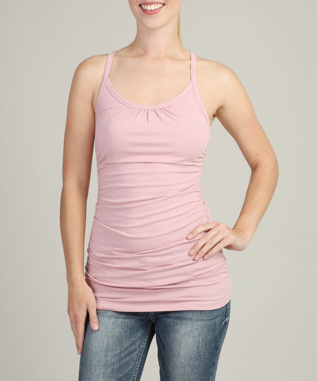 ally ruched h17, CLAY PINK, hi-res