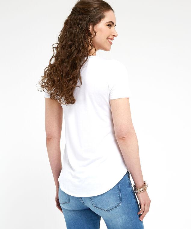 tea shirt graphic, WHITE, hi-res
