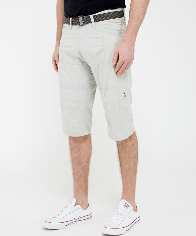 messenger short with belt - wb, Light Grey, hi-res