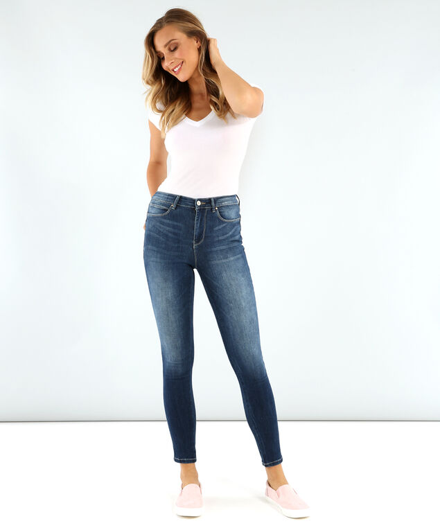 guess hr ankle skinny 1981, , hi-res