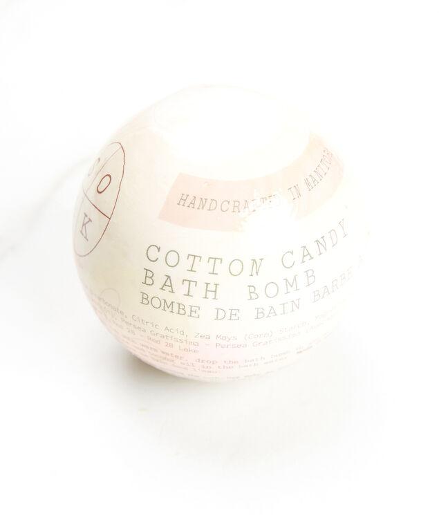 cotton candy bath bomb, Pink