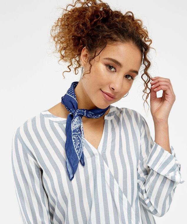 paisley versatile scarf, NAVY PRINT, hi-res