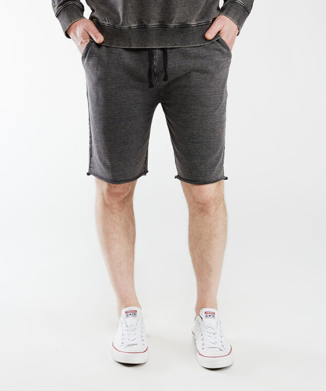 cotton shorts, Black