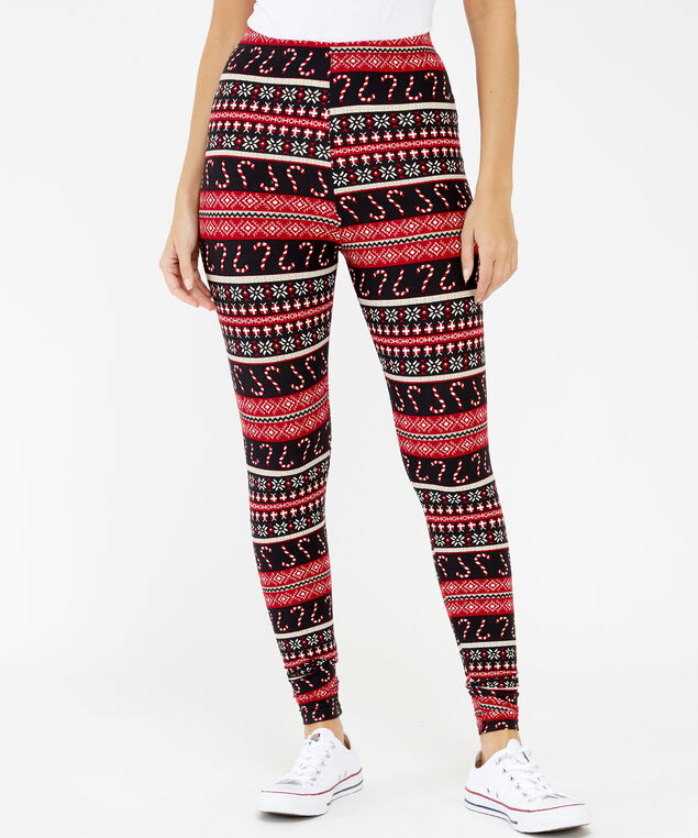 candy cane leggings, Candy Cane, hi-res