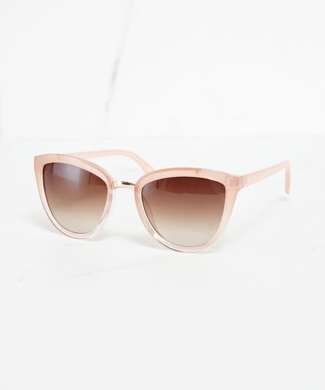 pink cateye sunglasses, Pink