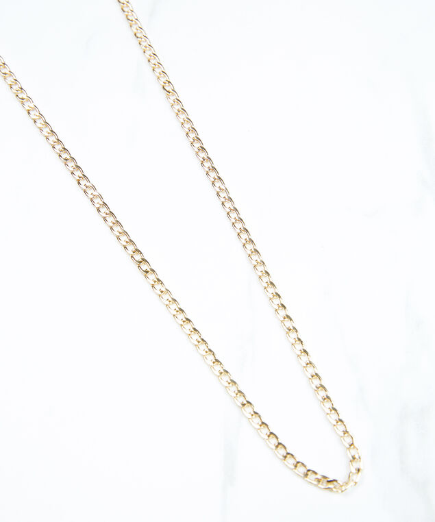 delicate mask chain, Gold