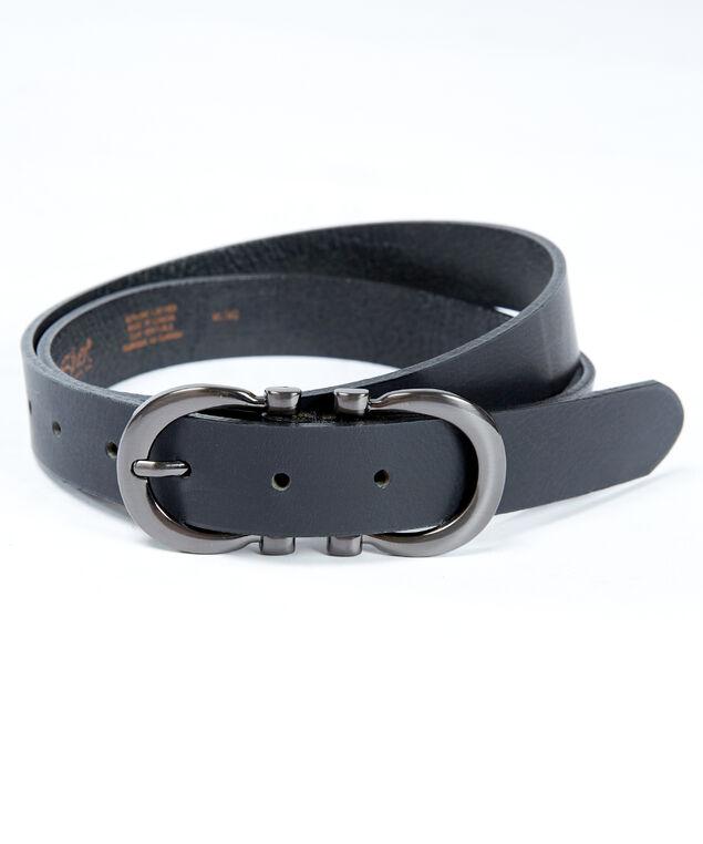 women's double harness belt, Black