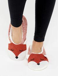 fox slipper sock