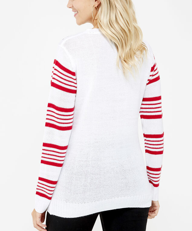 holiday sweater - wb, Ivory, hi-res