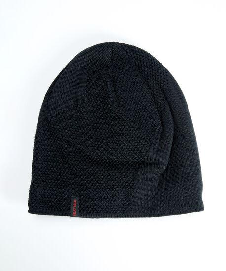 men's heat max beanie, Black, hi-res