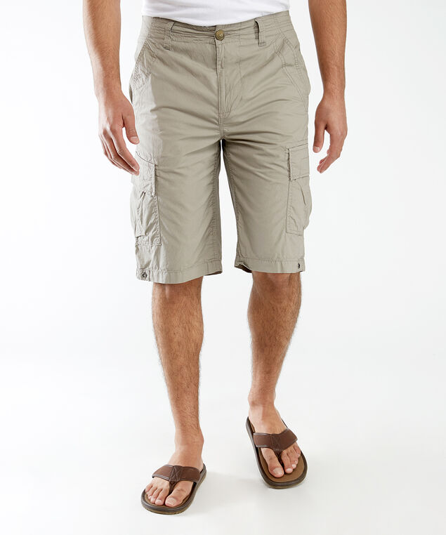cargo pocket short, Stone