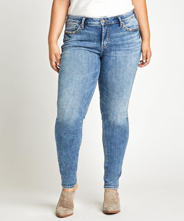 plus size skinny jean - wb, , hi-res