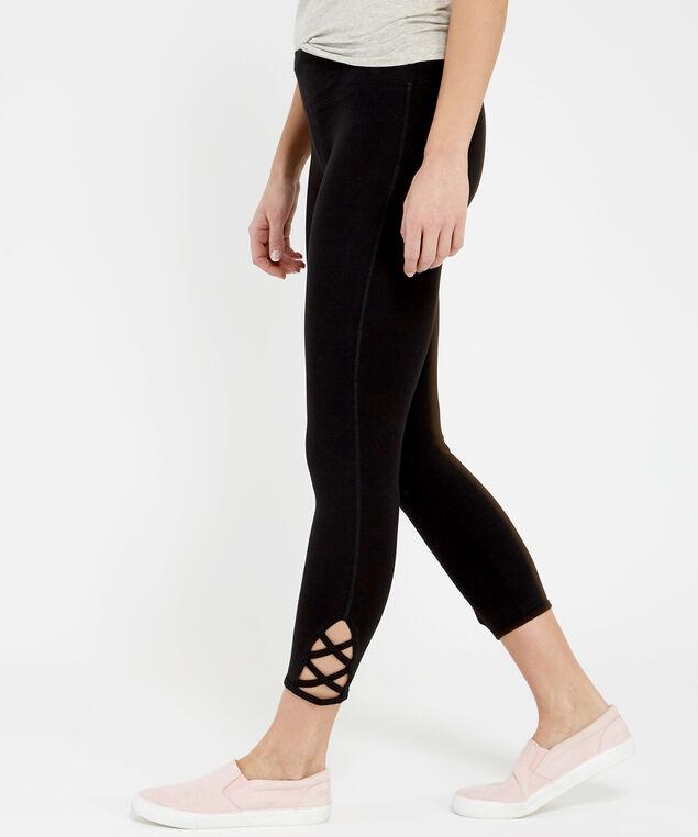 nala lattice crop legging 19, BLACK, hi-res
