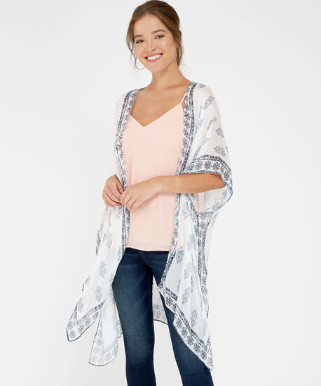 light kimono, MULTI PRINT, hi-res