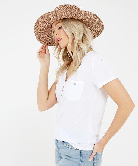 panama hat, Brown, hi-res