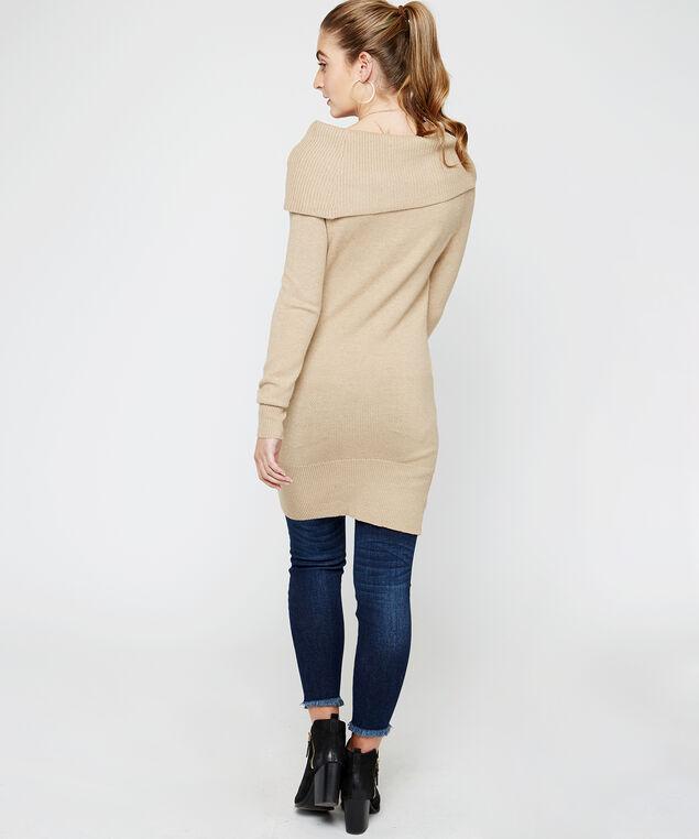 wb-72SR1293me tunic sweater, Cream