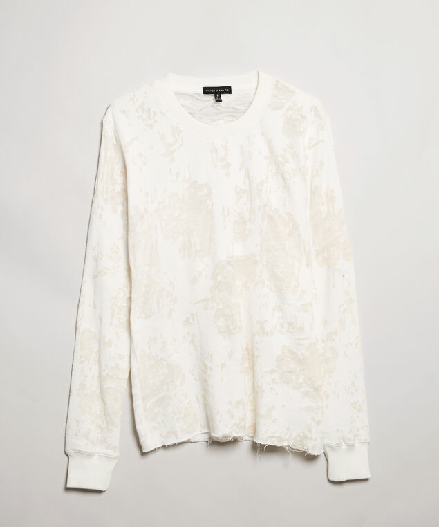 burnout pullover - wb, Ivory