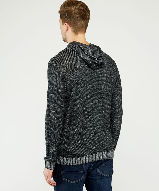 popover hooded sweater, Charcoal, hi-res