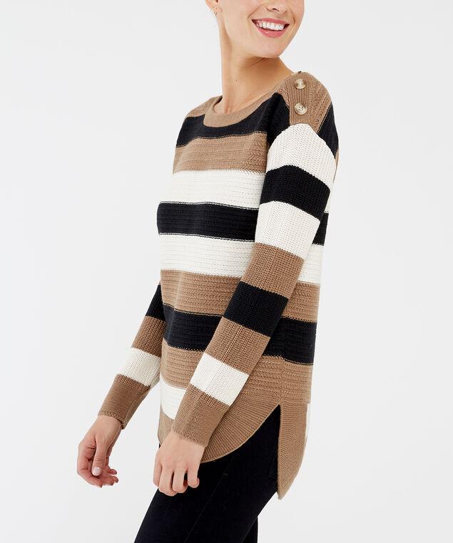 mikayla, brown stripe, hi-res