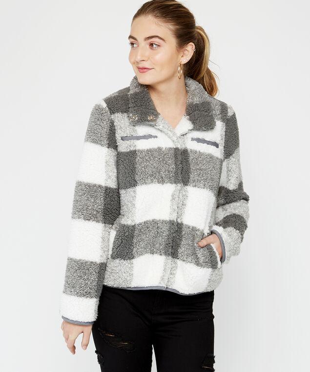 buffalo check , Grey Pattern, hi-res