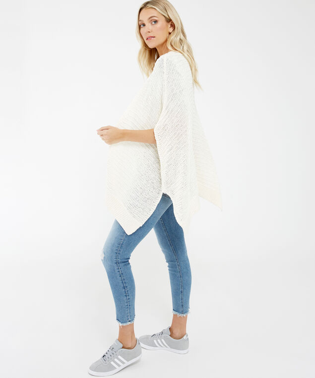 short sleeve cardigan - wb, Ivory, hi-res