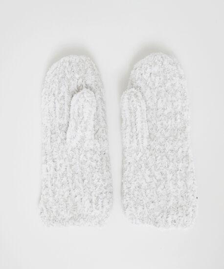 fuzzy mittens, Light Grey, hi-res