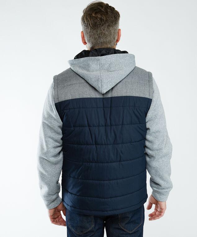 fooler vest jacket, Blue Pt