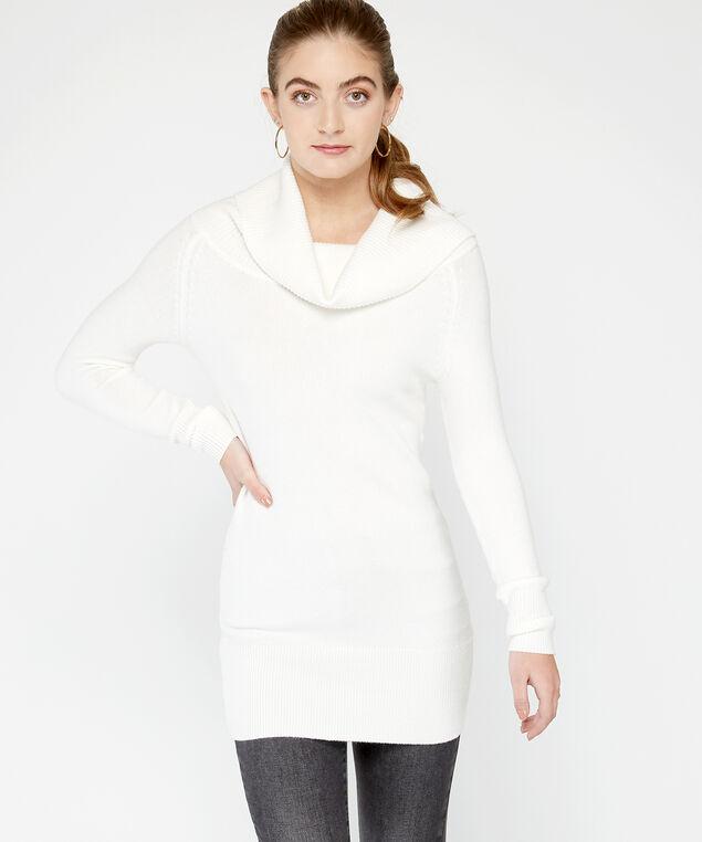 wb-72SR1293me tunic sweater, White, hi-res