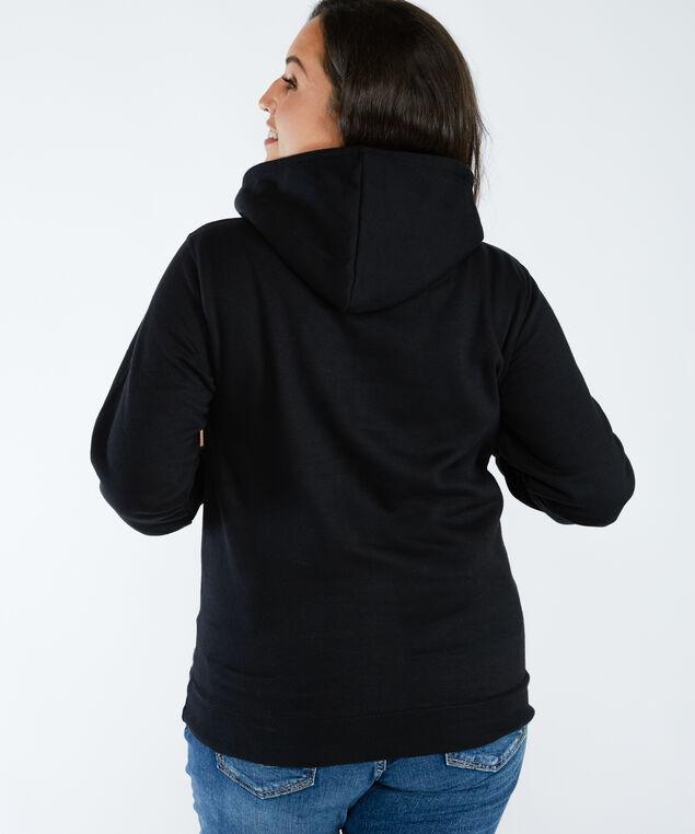 rolling stones hoodie , Black