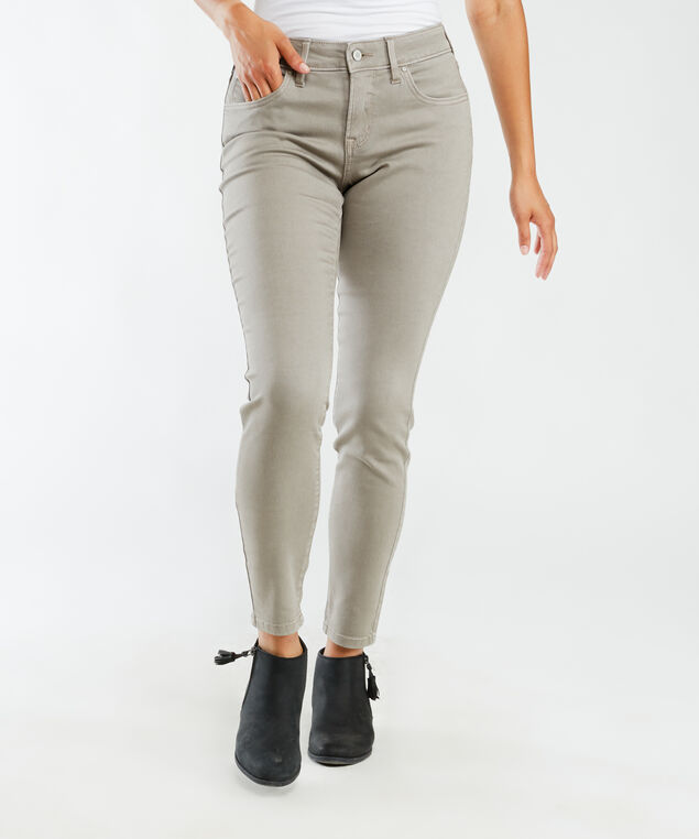 mid-rise skinny ankle - fawn,