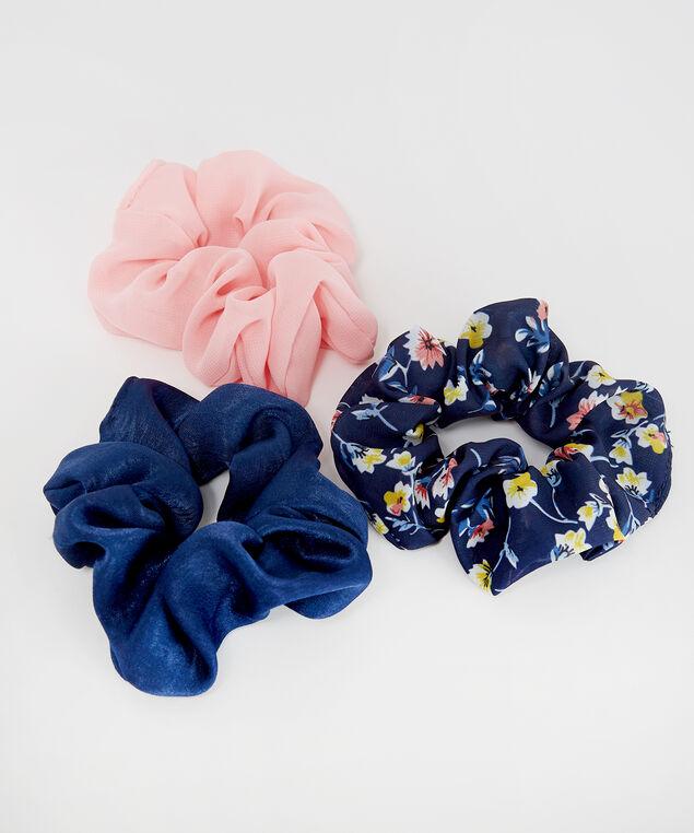 3 pack scrunchies - wb, MULTI, hi-res