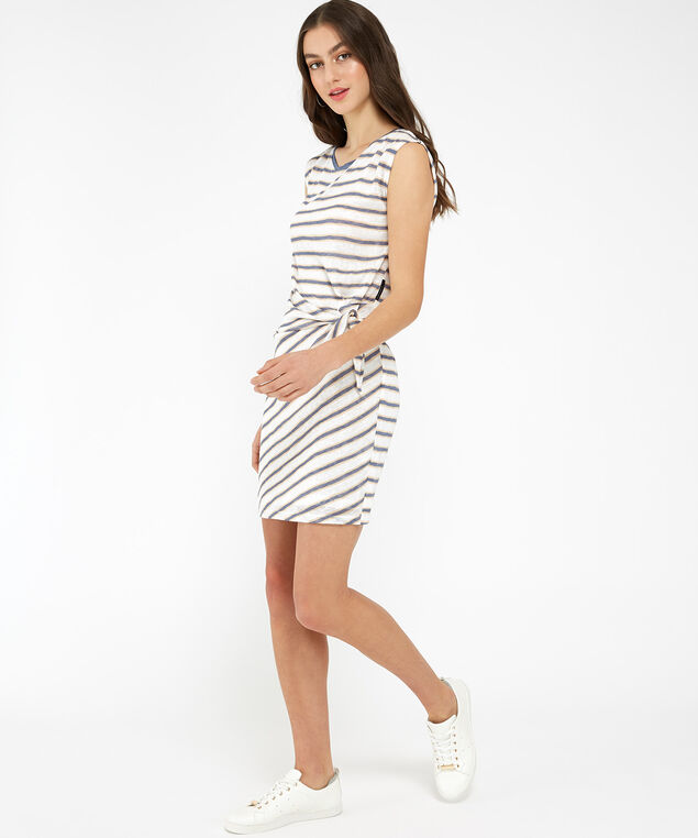 arlene dress - wb, IVRY N STRP, hi-res