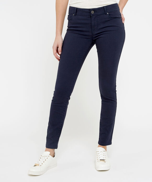 skinny ankle colour navy, , hi-res