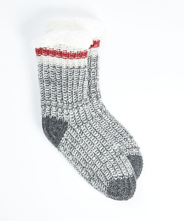 cabin slipper socks, Grey