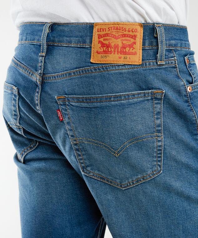 505 shorts - wb, Medium Stone Wash
