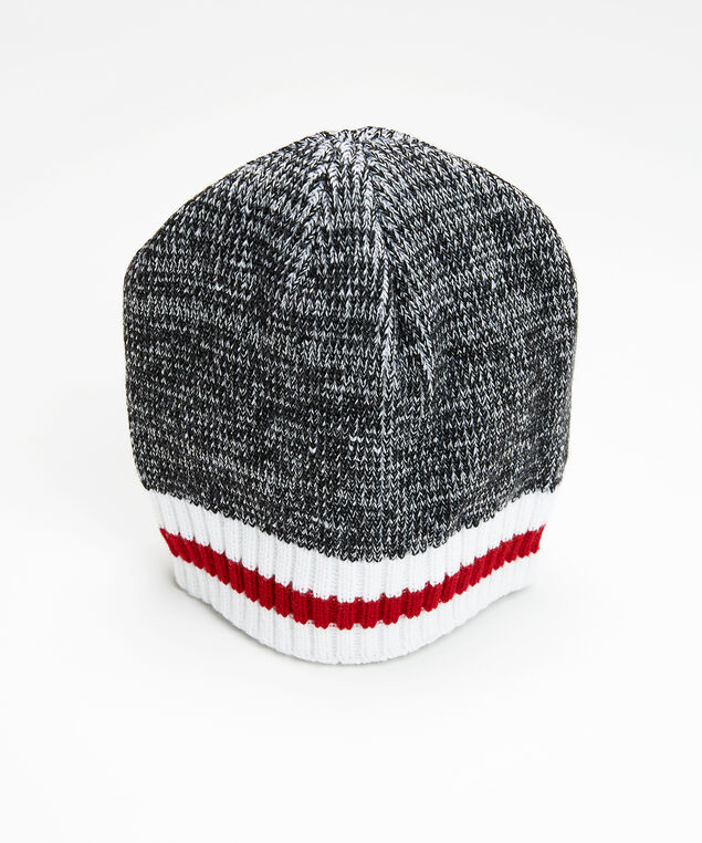 cabin stripe beanie, Grey, hi-res