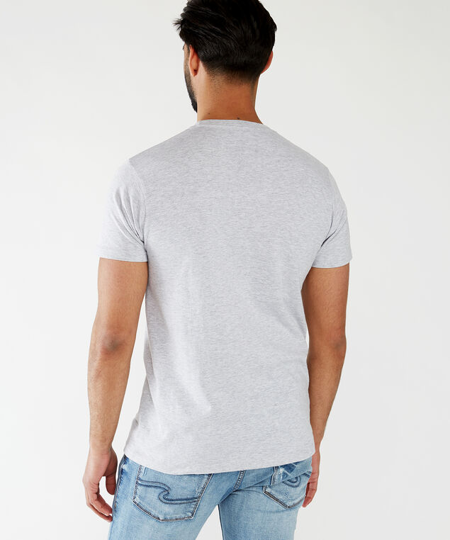 no touching graphic tee, Light Grey