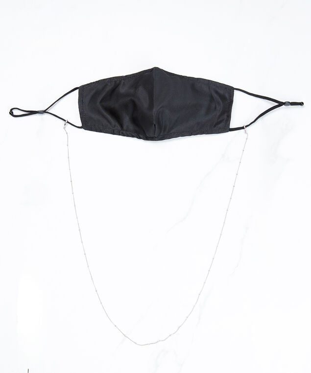 delicate mask chain silver, Silver, hi-res